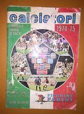 """Album """"CALCIATORI 1974-75"""" Ed. Panini per recupero figurine"""