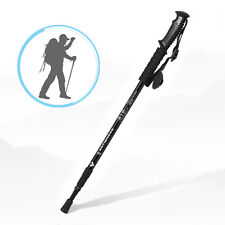 Anti-shock Walking Hiking Stick 3 Section Adjustable Retractable Trekking Pole