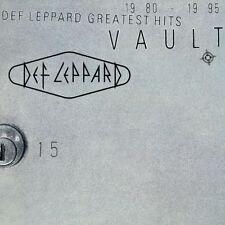 DEF LEPPARD VAULT GREATEST HITS 180 GRAM 2-LP SET (Released June 15th)