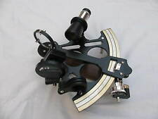 """Nautical Sextant 8""""~Working Brass Sextant in Black Coating Finish~Replica Gift."""