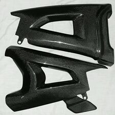 JAP4 KAWASAKI ZX10R CARBON SWING ARM COVER SET 2016 ONWARDS