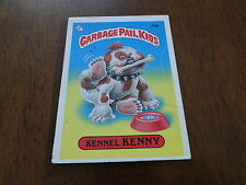 1985 Topps Garbage Pail Kids Kennel Kenny 74b Card