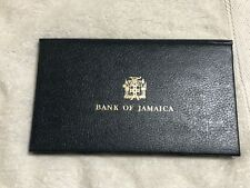 "BANK OF JAMAICA BANKNOTE SERIES ""1977"" SET IN ALBUM 1,2,5 and 10$"
