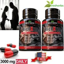 2X MALE PENIS ENLARGER GROWTH PILLS GET BIGGER GROW THICKER LONGER SIZE/GIRTH