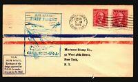Canal Zone 1929 FFC to USA / Back Crease & Sm Bottom Tear - Z17552