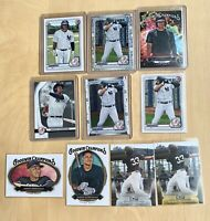 JASSON DOMINGUEZ **10 CARD LOT!** Key Cards MINT 2020 Different Rookie Cards