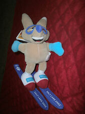 COPPER PLUSH 7 INCH FOX 2002 SALT LAKE WINTER OLYMPICS SKIING FOX