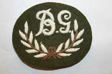 BRITISH CANADIAN ARMY BREN GUN GUNNER QUALIFICATION BADGE PATCH WW2 WWII