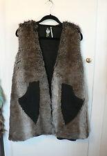 Tall Faux Fur Hip Length Coats & Jackets for Women