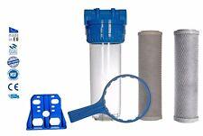 Flusso totale CASA ACQUA dechlorinator rimozione di cloro + 2x attivato Blocco
