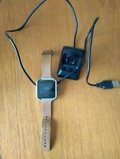 Fitbit Blaze Smartwatch with leather strap (small) and charger
