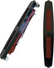 ACCUTRONIX AERO BAG LIGHTS BLACK W/AMBER LENS BL02-AB 2040-1744 811-20013