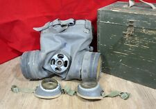 RARE SOVIET HORSE GAS MASK RESPIRATOR WITH BOX WW2 COLD WAR CAVALRY ! SALE ! ! !