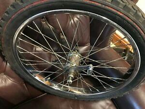 Raleigh Chopper Mk1 single speed coaster rear wheel, Vinylon tyre, hub date 70/2