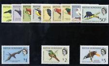 British Honduras 1962 QEII Birds set superb MNH. SG 202-213. Sc 167-178.