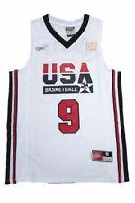 16d58fb2069 Michael Jordan Jersey 1992 USA Dream Team Olympic Blue White Basketball  Jersey