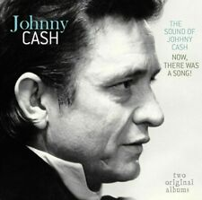 Johnny Cash SOUND OF / NOW, THERE WAS A SONG! 180g REMASTERED New Vinyl LP
