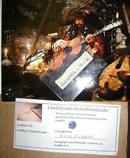 Keith Richards Signed Pirates of the Caribbean Autograph The Rolling Stones  A