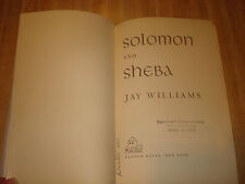 Wonderful 1959 Vintage book - Solomon and Sheba by Jay Williams