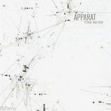 Apparat - Tttrial And Eror - RARE CD - IDM ELECTRO AMBIENT