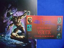 ~~VEROTIK ~ HARD TO FIND! ~ SIMON BISLEY COVER PORTFOLIO ~1995 ~~