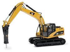 Norscot Caterpillar cat 323D L Excavators with H120E Hydraulic Hammer 1/50 55282