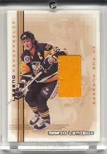 2000-2001 BAP Memorabilia Mario Lemieux Legends L6 Number Patch  / 30