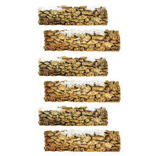 Dept 56 Set of 6 Village Stone Wall 52629 NEW D56 Christmas Village Accessory