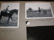 Old amateur photographs showjumper Andrew Fielder Otley Show 1971