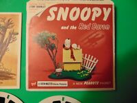 View-Master B544, Snoopy and the Red Baron, GAF, 3 Reel Set