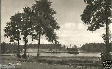 Pöllwitz bei Zeulenroda-Triebes, Greiz, Fischteich, DDR-Foto-Ak von 1956