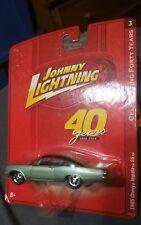 JOHNNY LIGHTNING 1965 CHEVY IMPALA SS New Release 3 celebration of 40 years