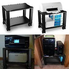 Home-Complete Printer Stand-2-Tier Under Desk Table for Fax, Scanner,...
