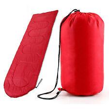 3SEASON WATERPROOF SINGLE SLEEPING BAG SUIT CASE CAMPING HIKING OUTDOOR ENVELOPE
