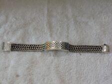 """Sterling Silver .925 Stamped  CELTIC Bracelet HEAVY & SOLID 61.6  grams 8"""" ***"""