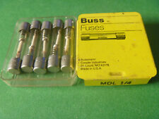 BUSS MDL- 1/4 amp GLASS FUSE TIME DELAY