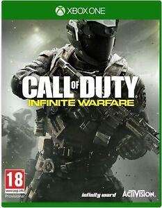 Call of Duty Infinite Warfare Xbox One New Sealed