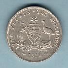 Australia. 1913 Florin.. Full Centre Diamond - gVF
