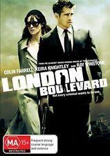 London Boulevard * NEW DVD * Colin Farrell Keira Knightley (Region 4 Australia)