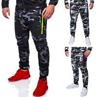 Sports Mens  Pants Camouflage Pants Loose Comfortable Trousers
