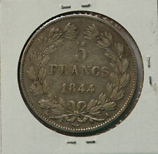 1844A 5 Francs - Louis Philippe - KM 749.1 - 900 silver 25 grams