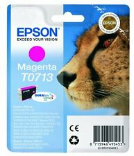 Epson T0713 Magenta Ink Cartridge for Stylus SX400 SX405 SX415 SX600FW
