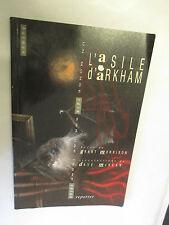 """Grant Morrison & Dave Mc Kean """"Batman L'Asile d'Arkham"""" /Editions Reporter 1999"""