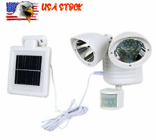 22LED Solar Spot Lights Outdoor Garden Landscape Lamp Detector Motion Floodlight