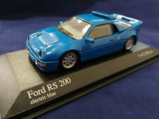 Ford RS 200 1986 Blue 1/43 Minichamps 430080202