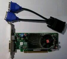 AMD ATI Radeon B276 HD2400xt PCI-E & Dual Monitor DVI or VGA Adapter