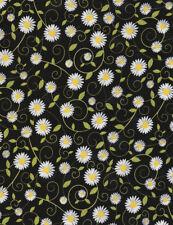 Sunshine Daisy Patchworkstoff Stoffe Blumen Patchwork Blumenmuster Gänseblümchen