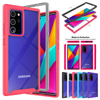 Phone Cover For Samsung Note 20 Ultra S20FE 5G S20 Plus Hybrid Bumper Clear Case