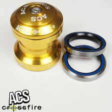 """Head Set from ACS Crossfire 1"""" Alloy Headset Sealed Bearing (Gold)"""