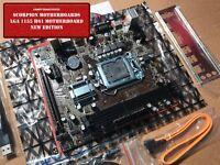 NEW Intel LGA 1155 H61 Motherboard 16GB DDR3 mATX HDMI WiFi + OC